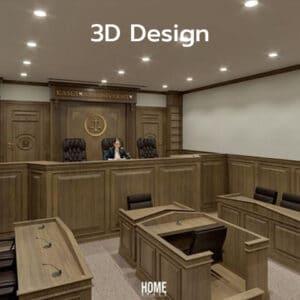 ศาลจำลอง 3D ม.เกษตรศาสตร์วิทยาเขตเฉลิมพระเกียรติ จังหวัดสกลนคร